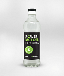 POWER MCT OIL 500ml (Powerlogy)