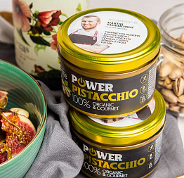 BIO Power Pistacchio 200 g (Powerlogy)