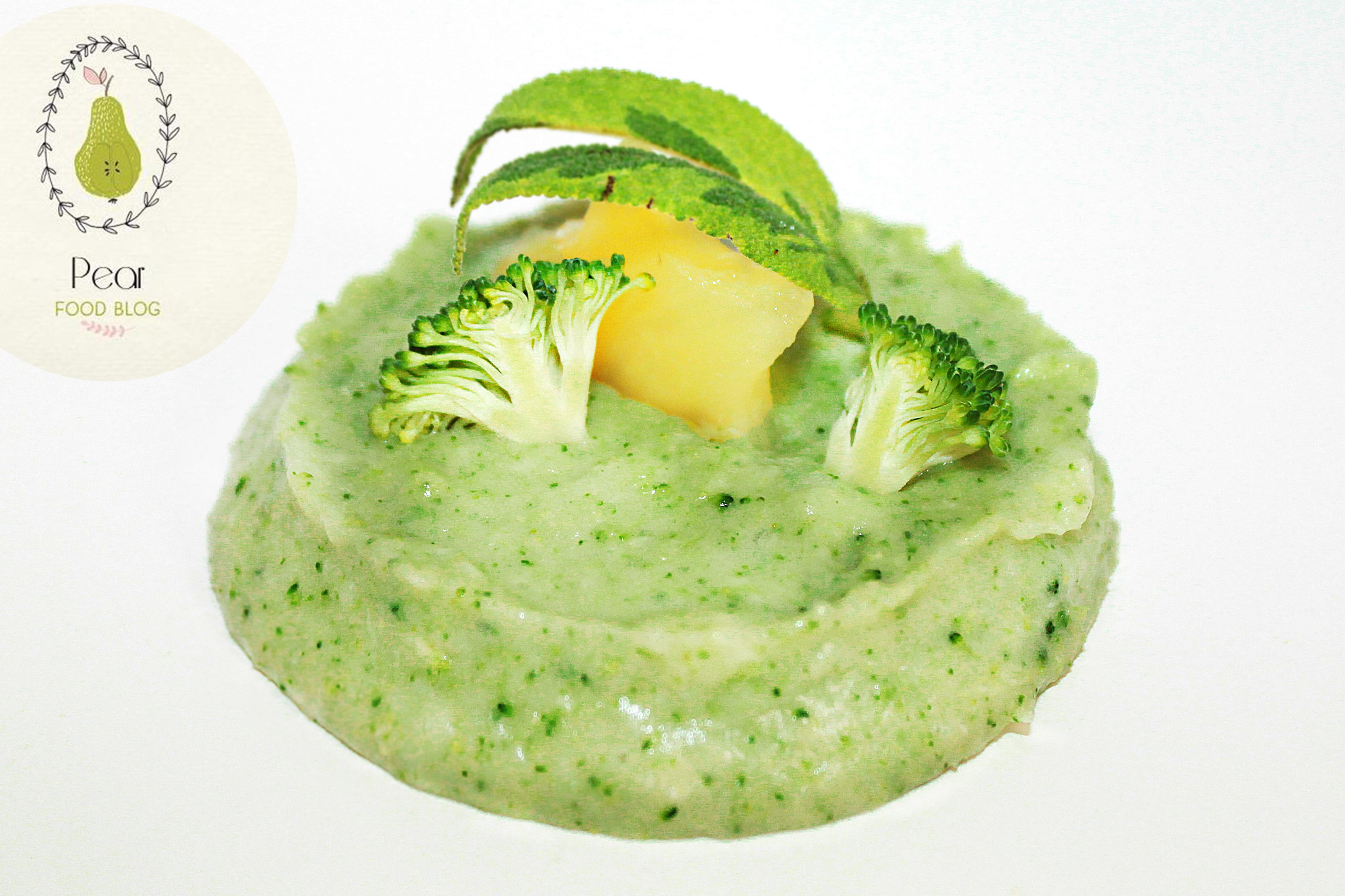 brokolicový príkrm pre deti