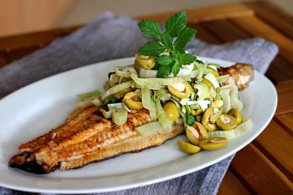 grilovaná ryba recept